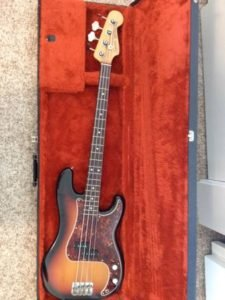 1982 Squier JV Precision Bass