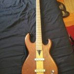 Rare 1980s Roomian fretless bass