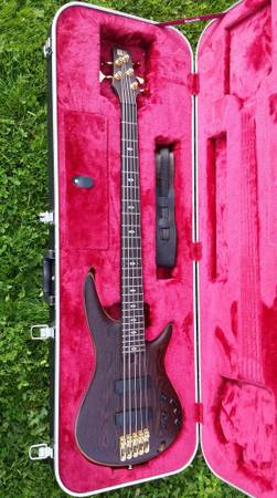 , Ibanez SR 5005 OL Japan 5 string bass, Best In Bass Guitars .Com