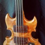 Custom Fretless Bass Guitar 60`s