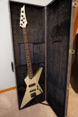 distroyer bass with case