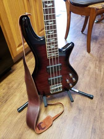 schecter extreme bass body