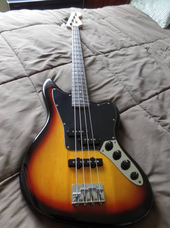 vintage modified squire bass